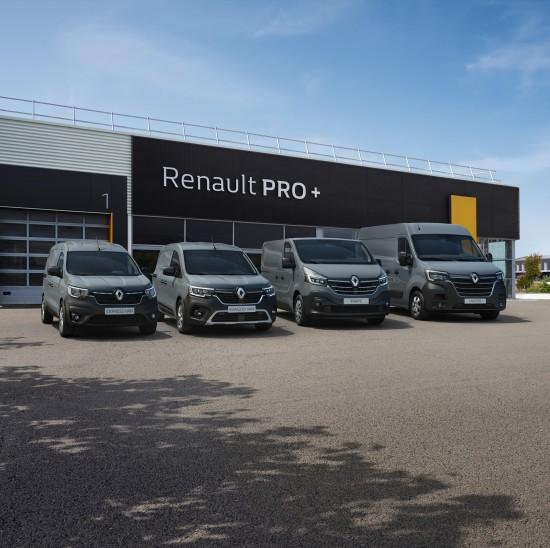 Новите модели от гамата лекотоварни автомобили Renault PRO+ правят своята премиера на