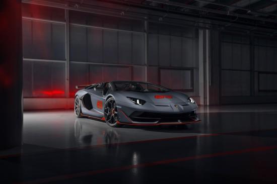 Lamborghini анонсира новата специална серия Aventador SVJ 63 Roadster, в която