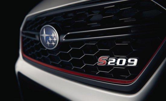 Снимка: Subaru анонсира лимитираната серия STI S209