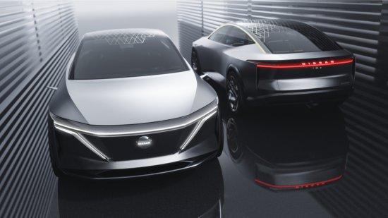 Снимка: Автосалон Детройт 2019: Nissan с уникална електрическа концепция
