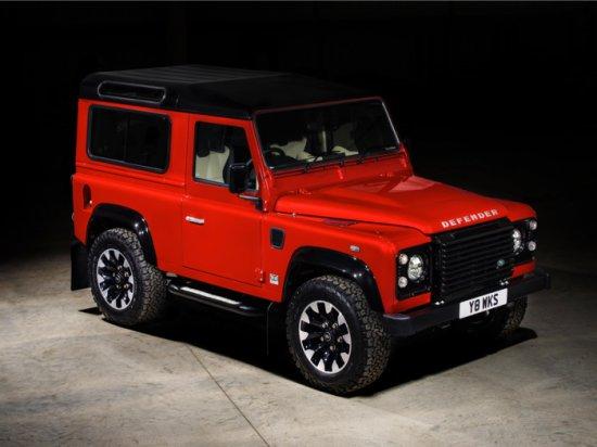 Land Rover анонсира специалната лимитирана серия Defender Works V8, в която