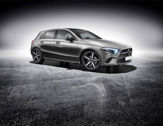 Въпреки че пазарното лансиране на новото поколение Mercedes A-Class стартира през