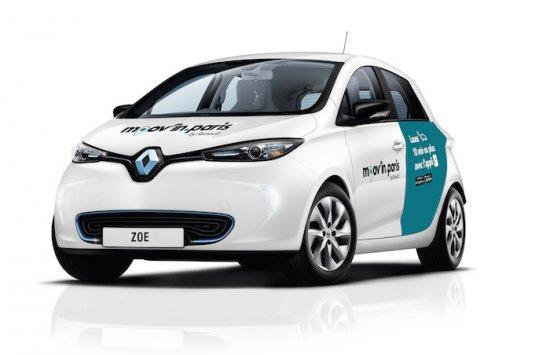 Renault и ADA (платформа за споделено ползване електромобили в Париж) обяви,