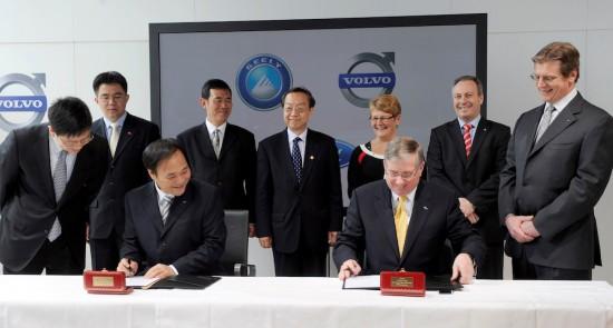 През този месец, производителят на луксозни автомобили Volvo Cars отбелязва 10 години