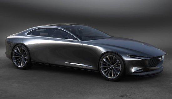 Впечатляващата концептуална разработка Mazda Vision Coupe получи наградата Концептуален автомобил на годината