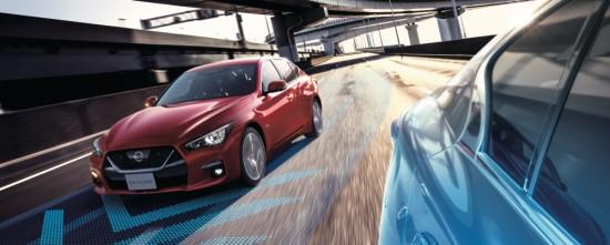 Nissan радкри първите подробности за обновената версия на хитовия си модел Skyline,