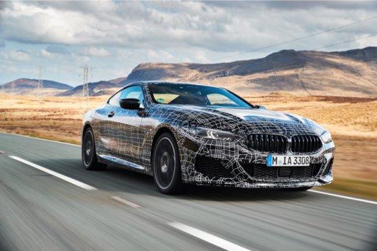 Динамичните тестове на новия луксозен спортен автомобил, провеждани в момента в Уелс,