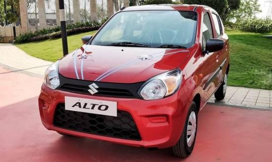 Бюджетният градски хечбек Maruti Suzuki Alto 800 е обновен и е
