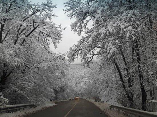 Снимка: АПИ: Шофьорите да тръгват на път с автомобили, подготвени за зимни условия. В Южна България се очаква сняг