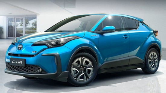 Снимка: Toyota C-HR и в напълно електрически вариант - видео