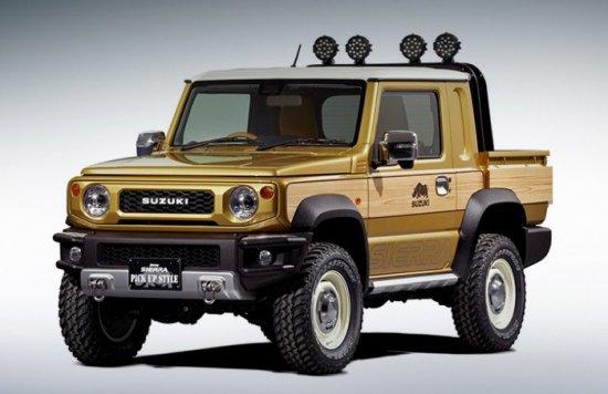 Снимка: Новото Suzuki Jimny ще се пробва и като пикап