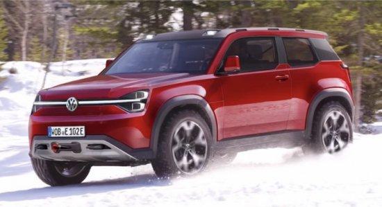 Снимка: Volkswagen подготвя конкурент на Land Rover Defender - T-Rug