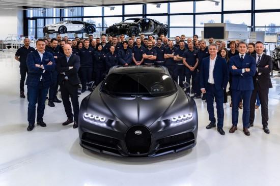 Днес Bugatti обяви, че три години след първата доставка на изцяло