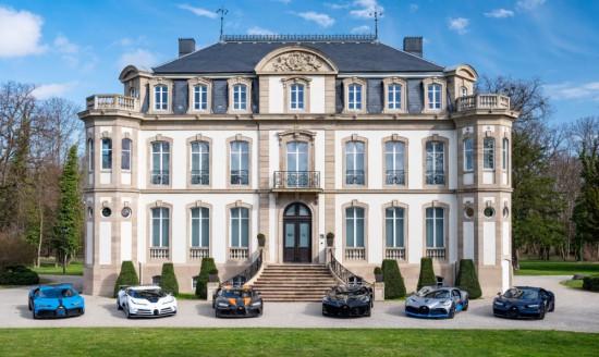 Френската марка автомобили Bugatti, сега собственост на VW Group, отстоява през цялото