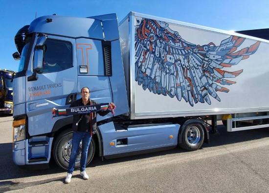 Плевенчанинът Пламен Иванов спечели специална награда за най-бърза смяна на гума на