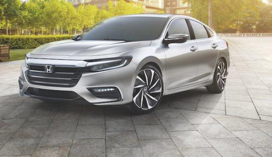 Honda използва международното изложение в Детройт, за да демонстрира прототипната версия на