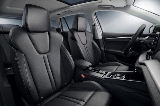 SKODA обяви, че специално разработените и предлагани като допълнително оборудване Ergo седалки