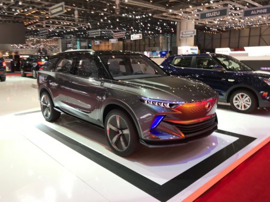 На Женевския автосалон компанията SsangYong представи концептуалния електрически кросовър e-SIV. В бъдеще