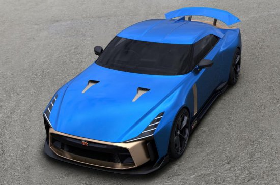 Днес Nissan потвърди официално продуктовия дизайн на ексклузивната серия GT-R50 BY ITALDESIGN,