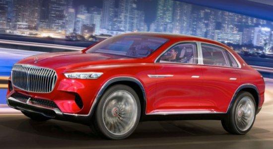 Китайските медии разсекретиха концепта Vision Mercedes-Maybach Ultimate Luxury преди премиерата му. Ако