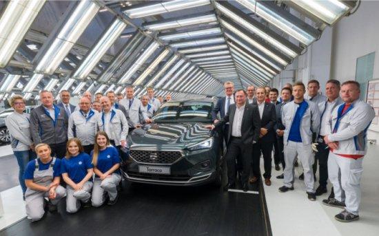 Испанският производител SEAT обяви, че производството на изцяло новия модел на марката-