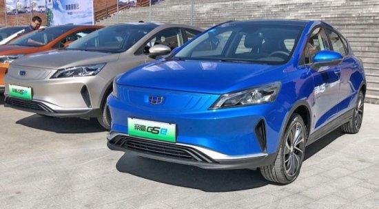Geely Emgrand GSe е нов и бюджетно достъпен китайски електрокросовър с