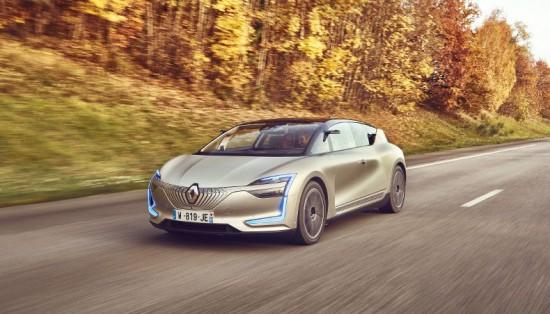 Снимка: Новият eлектромобил на Renault ще има пробег 400 км и просторен салон
