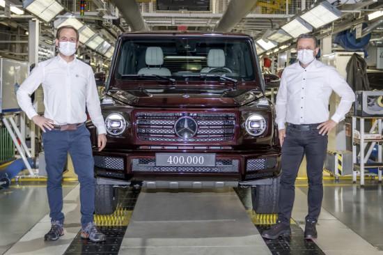 Mercedes-Benz обяви, че произведените представители на лансираният през 1979 година G-Class са