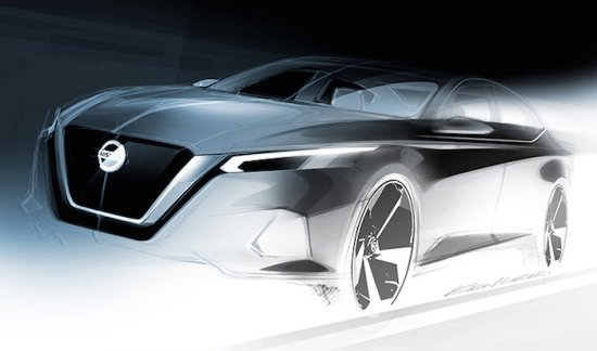 Американското подразделение на Nissan разпространи първата скица на изцяло новото поколение на
