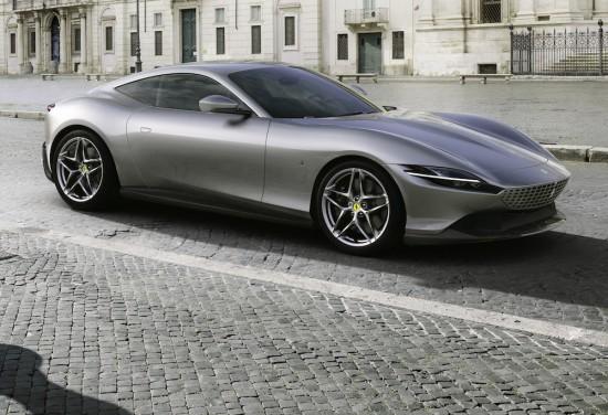 Ferrari разкри първата информация за изцяло новото си пазарно предлажение ROMA- двуместно
