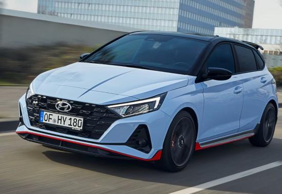 """""""N"""" означава спортно удоволствие от шофирането в Hyundai. Малкият автомобил i20 вече"""