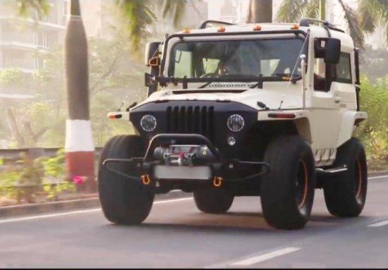 Mahindra пусна кратко видео показващо екстериора и интериора на варианта Thar Wanderlust