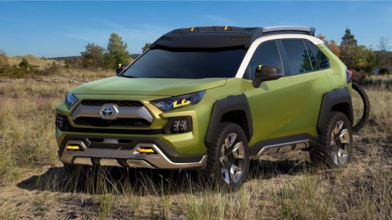 """Toyota представи концептуалния си """"приключенски"""" кросовър Future Toyota Adventure Concept (FT-AC). Особенности"""