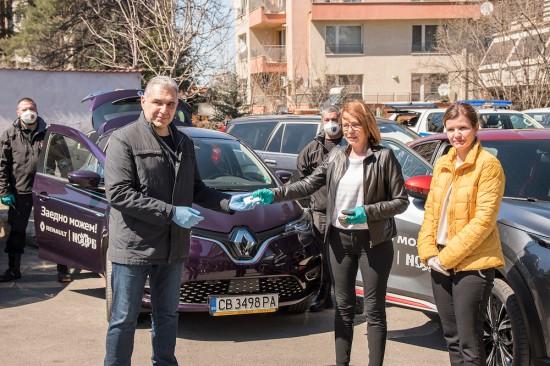 •Компанията и търговските представителства на марките Renault, Dacia и Nissan предоставят над