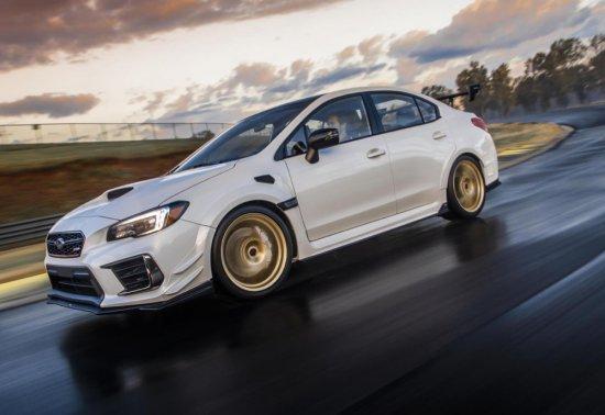Снимка: Subaru анонсира STI S209 с 341 конски сили. 200 бройки само за САЩ