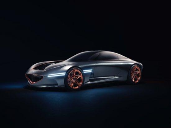 Световна премиера на щанда на марката Genesis, част от гиганта Hyundai