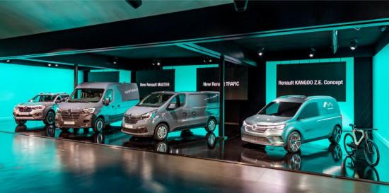 Днес лидерът на пазара на ванове и лекотоварни електрически автомобили Groupe Renault