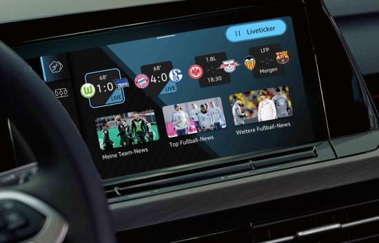 Volkswagen анонсира ново приложение за бордовата система на Golf (моделно поколение 2020