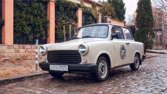 """""""Всеки роден преди 90-а разпознава мигновено формите на Trabant"""", казва Атанас Вилнер."""