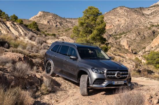Снимка: Новият Mercedes GLS: S-класа в SUV формат