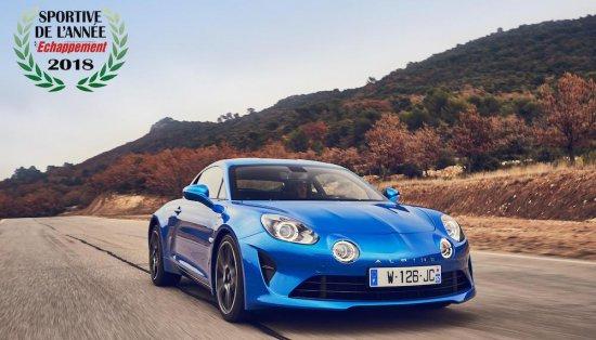 Възродената от Renault Group легендарна марка Alpine записа ново признание, след