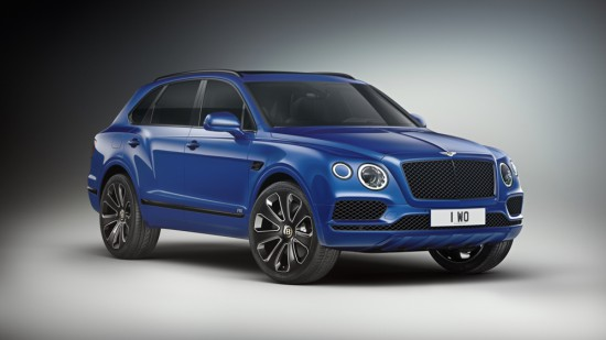Снимка: Bentley анонсира специална серия на BENTAYGA