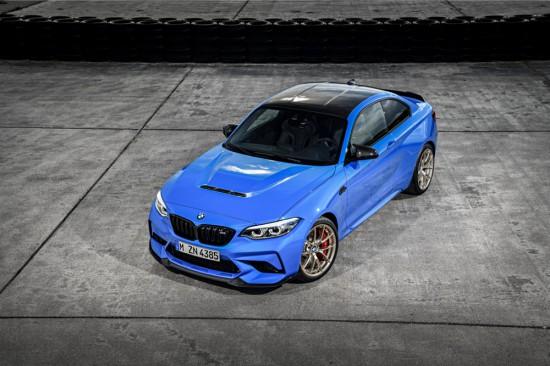 BMW разпространи първата информация за новото си суперспортно предложение M2 CS, параметрите