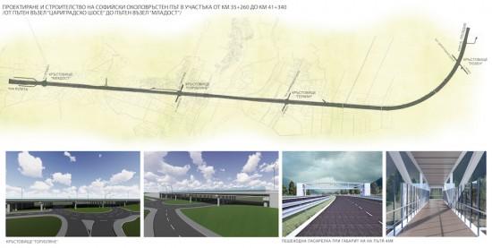 Започва строителството на над 6 км от Софийския околовръстен път II-18
