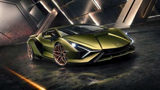 Днес Lamborghini разпространи първите изображения и подробности за новата си суперспортна кола