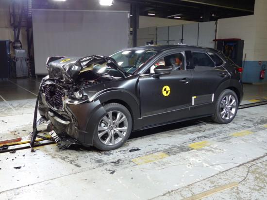 Euro NCAP публикува резултатите от последните си краш тестове, в които