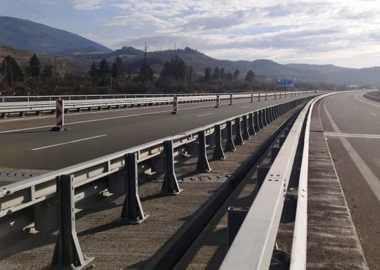 """Снимка: Завърши ремонтът на моста над р. Джерман при 62-ри км на АМ """"Струма"""""""