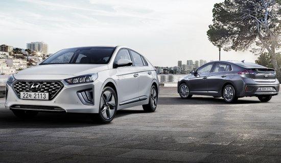 Снимка: Hyundai анонсира версията 2019 година на IONIQ Hybrid и Plug-in