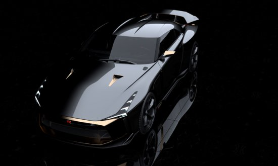 Уникалната съвместна разработка на Nissan и легендарното дизайн студио Italdesign- ,