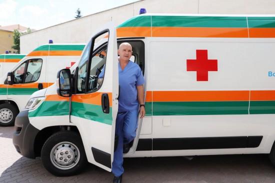 ВМА добави към автопарка си линейки Citroen, които ще бъдат разпределени
